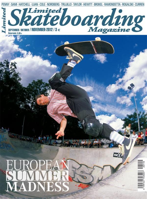 Limited Skateboarding Magazine Ausgabe 110
