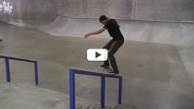 Chris Troy Bangin Berrics Black Label FKD Bearings
