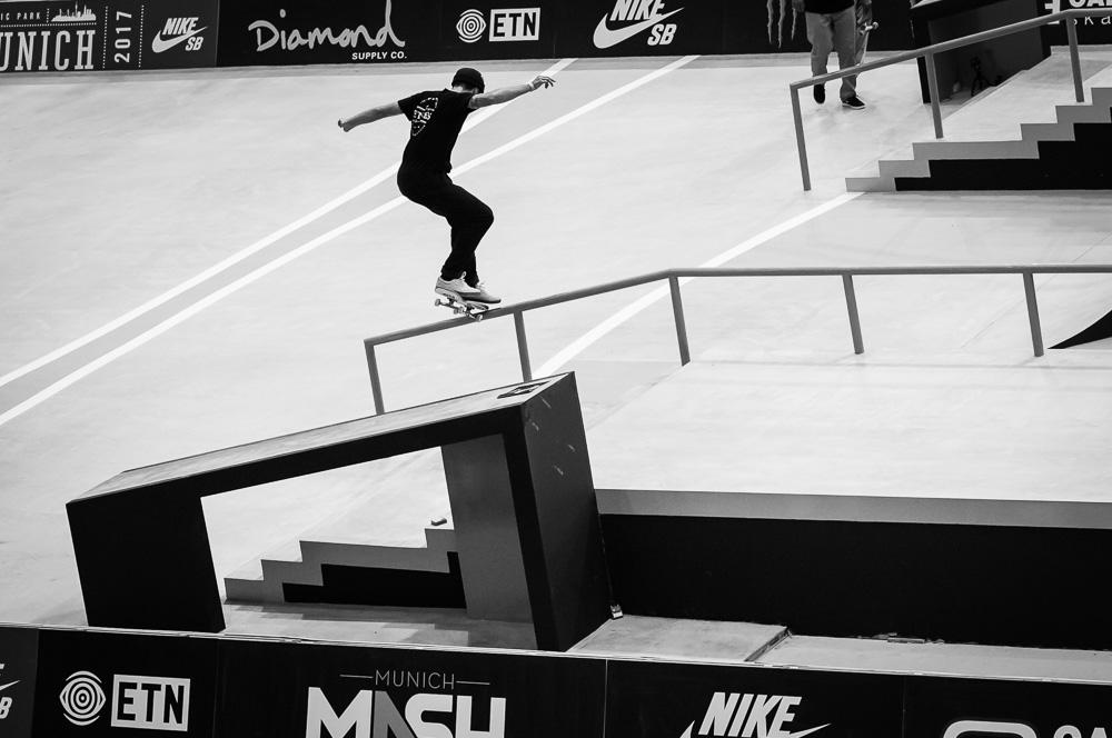 Matt Berger - Kickflip Noseslide / ©Reichenbach